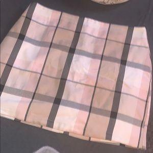 Forever twenty one plaid skirt